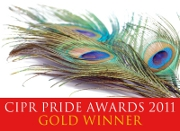 PRide Awards 2011 Gold Winner