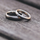 TWo wedding rings symbolisig teh romance of Heath arm near Great Tew