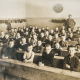 School children sitting in rows